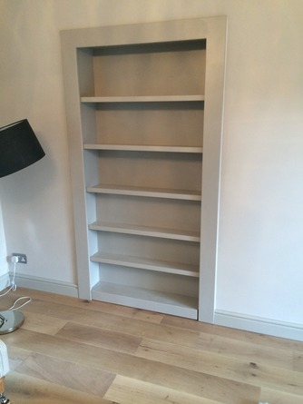 Bespoke false bookcase