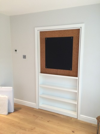Bespoke hidden door