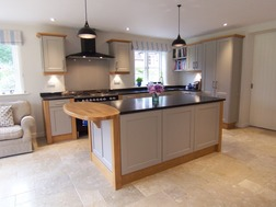 Bespoke Shaker kitchen with island