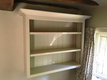 Hand-made bookcase