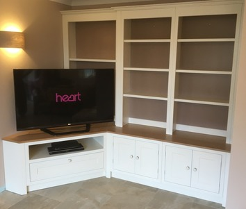 Hand-made built-in media centre