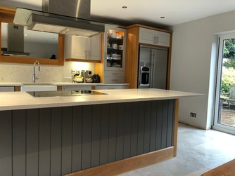 Bespoke hand-made kitchen
