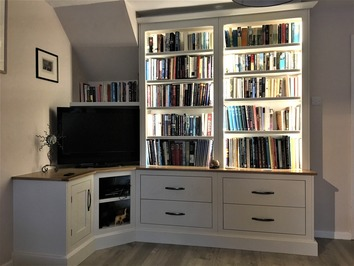 Bespoke media centre and storage
