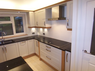Built-in galley kitchen