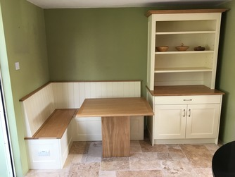 Bespoke seating with storage
